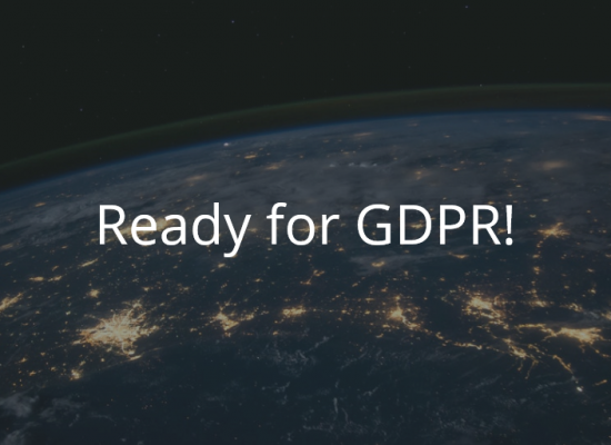 GDPR – How we store your data!